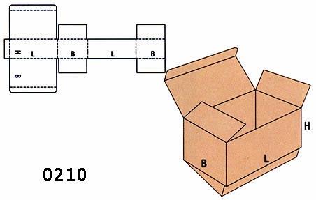 cutii clasice FEFCO