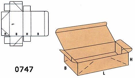 cutii gata lipite FEFCO