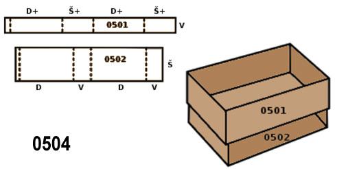 cutii glisante FEFCO