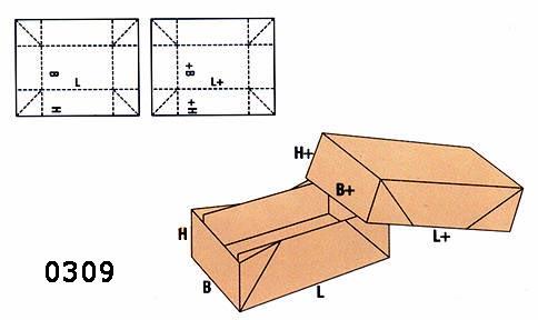 cutii telescopice FEFCO