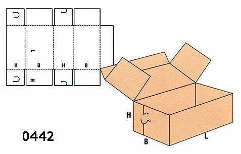 cutii tip mapă FEFCO